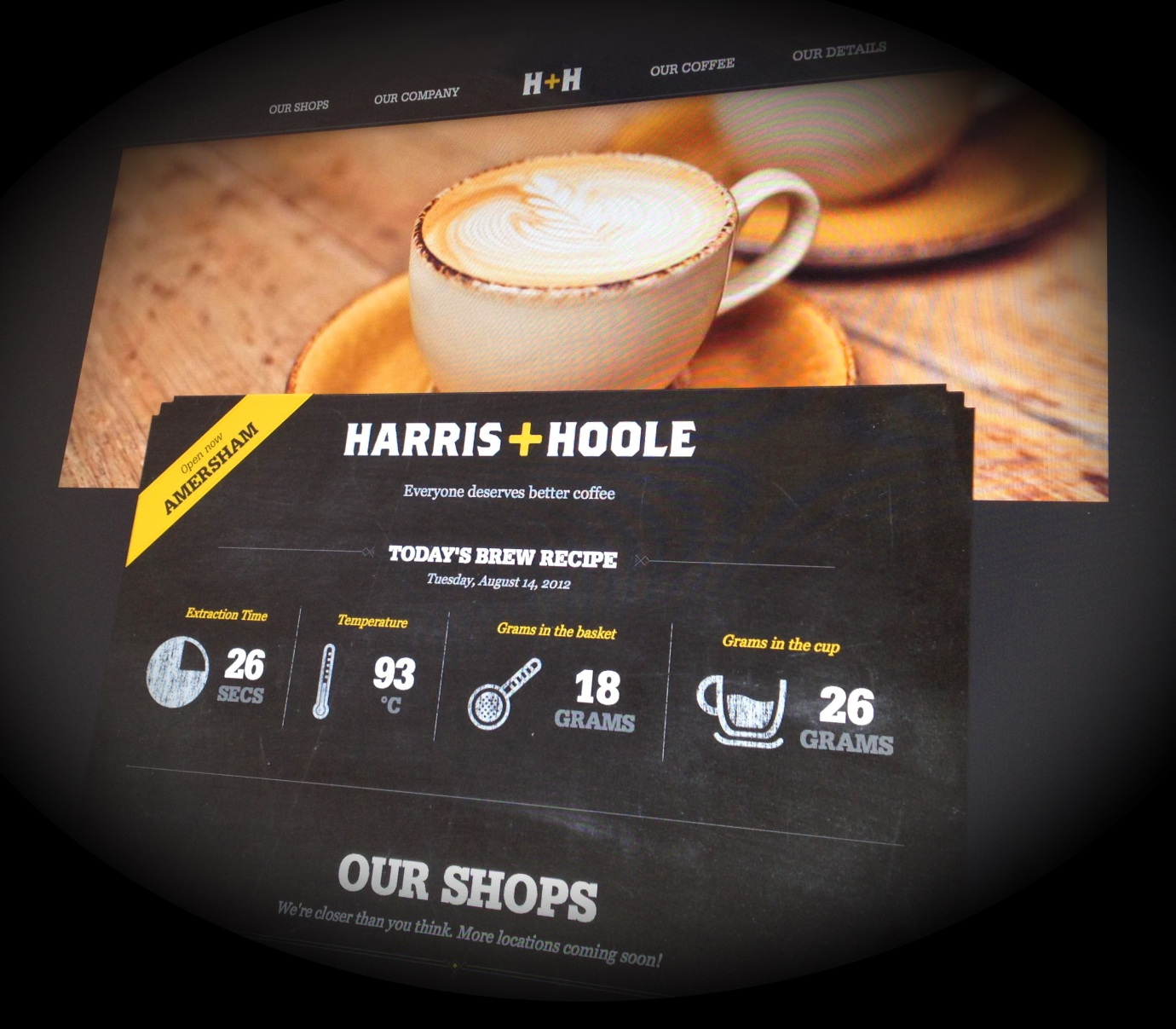 image for Webmoco develops new website for Harris+Hoole